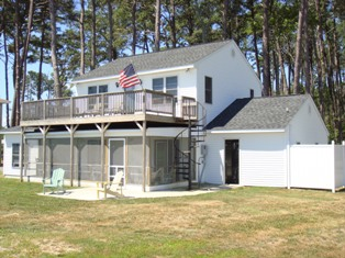 Sandbar vacation home rental