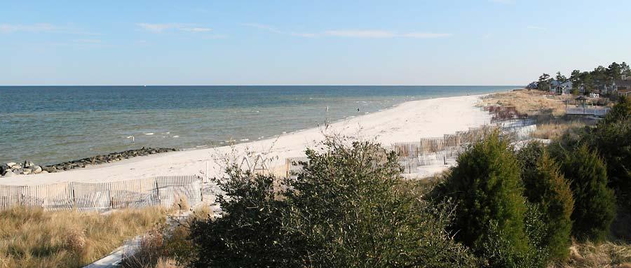 Bavon Beach On Chesapeake Bay