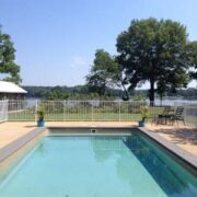 pool at Oyster Shell Cottage