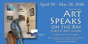 Art Speaks Banner
