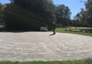 Kingston Parish community labyrinth