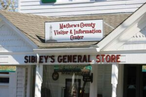 Welcome to the Mathews County Visitor and Information Center blog!