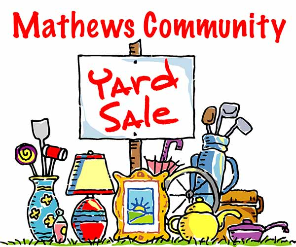 mathews va community yard sale 2017