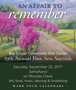 Bay School 2017 Auction