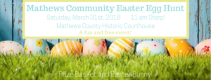 Mathews Easter Egg Hunt