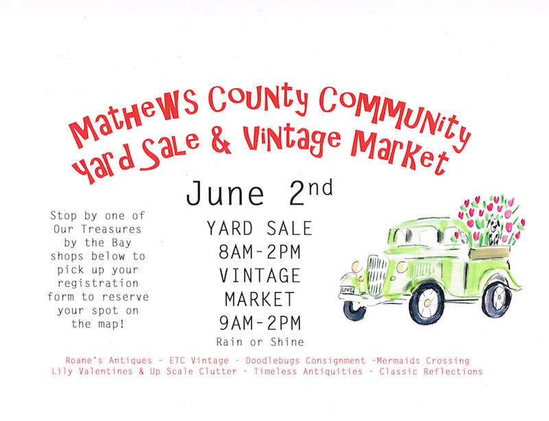 Mathews County Vintage Market