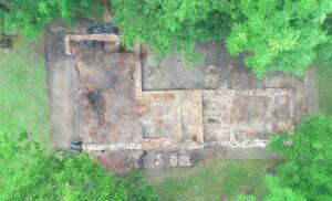 Archaeology at Fairfield foundation