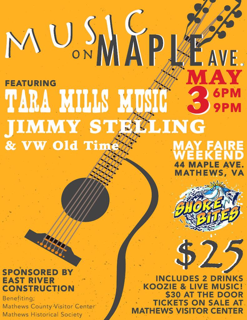 Music on Maple Ave, Mathews VA