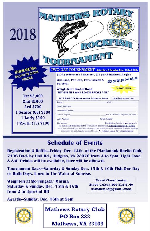 Rotary Rockfish Tourny