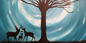 White Dog Bistro Paint Party