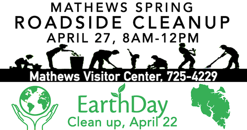 Mathews Community Cleanup 2019